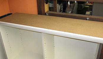 食器棚天板