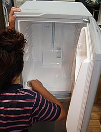 冷蔵庫の庫内クリーニング